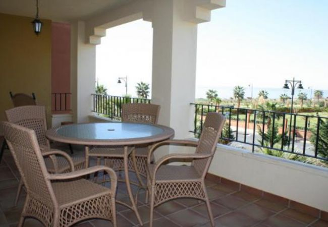 Apartment in Isla Canela - Isla Canela  family 2 bedrooms apartment front line beach