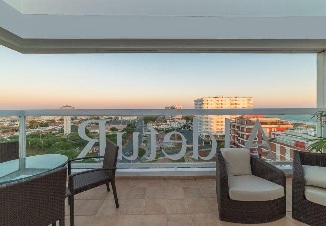 Lägenhet i Punta Umbria - Ett sovrum vetter mot havet i Punta Umbría