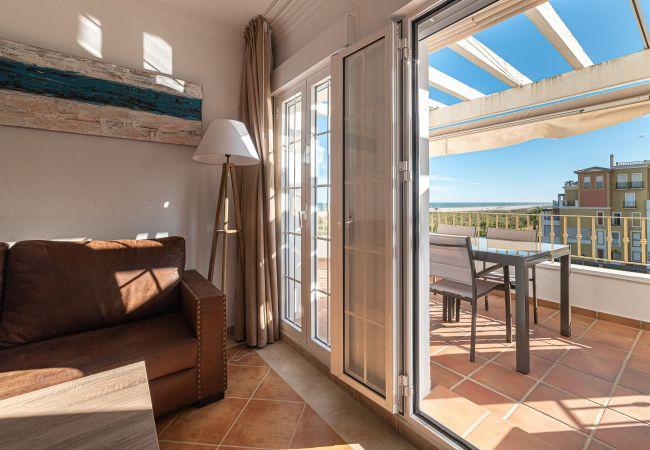 Lägenhet i Ayamonte - Takvåning vid stranden i Isla Canela