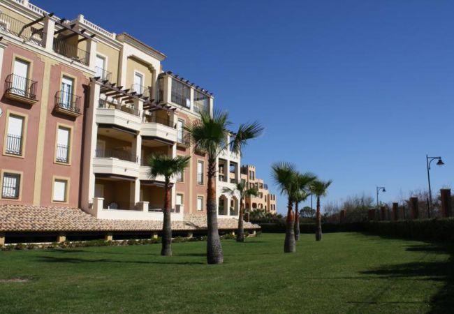 Lägenhet i Isla Canela - utsikt och lugn första raden Isla Canela